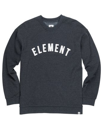 1 Melting Crew Neck Fleece Grey M665QEMC Element