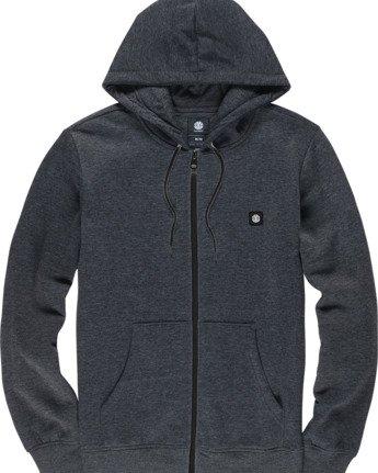 1 92 Zip-Up Hoodie Grey M6781E9Z Element