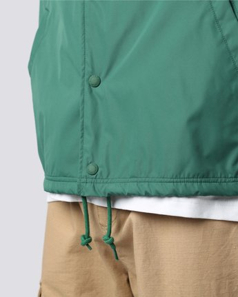 6 Yawye Coach Jacket Green M712NEYJ Element