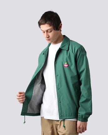 3 Yawye Coach Jacket Green M712NEYJ Element