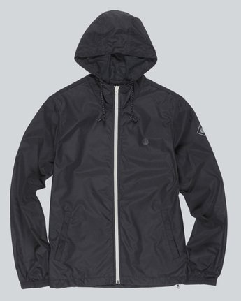 0 Alder Travel Well Jacket Black M722QEAT Element