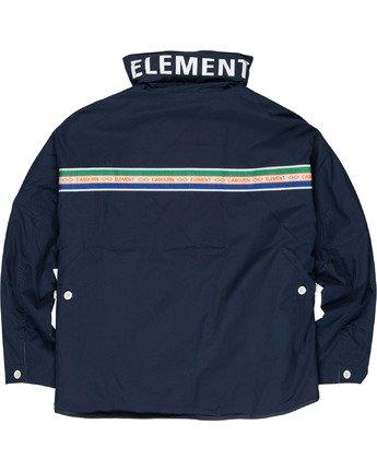 5 Element by Nigel Cabourn Alder 4 Jacket Blue M7261EAU Element