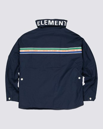 2 Element by Nigel Cabourn Alder 4 Jacket Blue M7261EAU Element