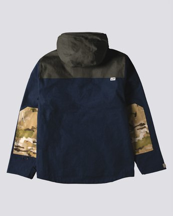 1 Seal Chest Po Jacket Green M728VEGW Element