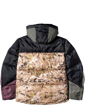 8 Griffin Base Camp Puffer Jacket Green M729VEGC Element