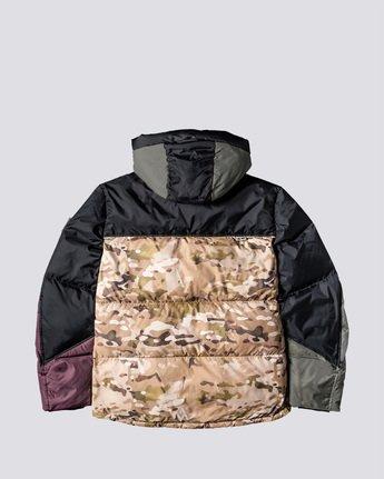 1 Griffin Base Camp Puffer Jacket Green M729VEGC Element