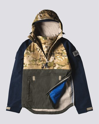 0 Fieldstone Anorak Jacket  M731VEGF Element