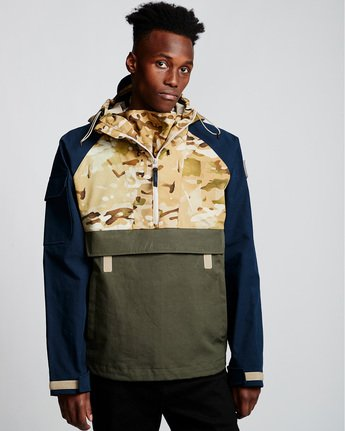 2 Vertically Basic Po Jacket Green M731VEGF Element