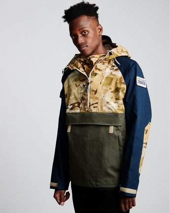 4 Vertically Basic Po Jacket Green M731VEGF Element