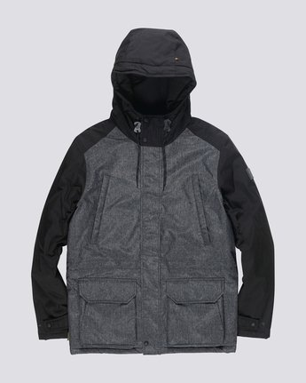 0 Valdez 2 Tones Jacket Black M743QEV2 Element