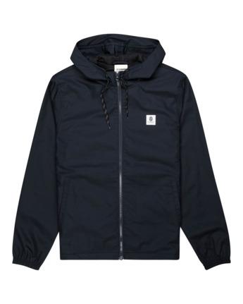 1 Alder Jacket Blue M7553EAL Element