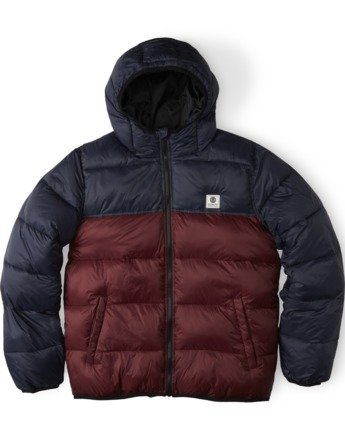 1 Alder Avalanche Puffer Jacket Multicolor M7584EAA Element