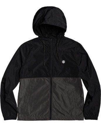 1 Alder Fundamental Jacket Black M7713EAF Element