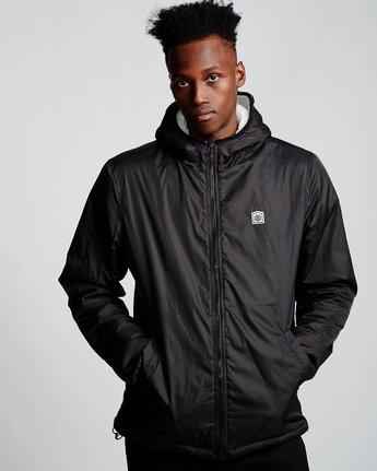 1 Elkins alder sherpa jacket Black M783VEEL Element