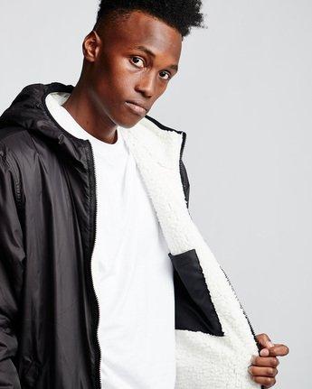 3 Elkins alder sherpa jacket Black M783VEEL Element