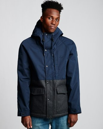 1 Birchmont Jacket Blue M785VEBI Element