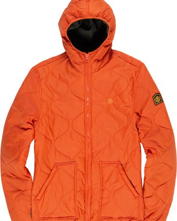 4 Albee Jacket Orange M789VEAL Element