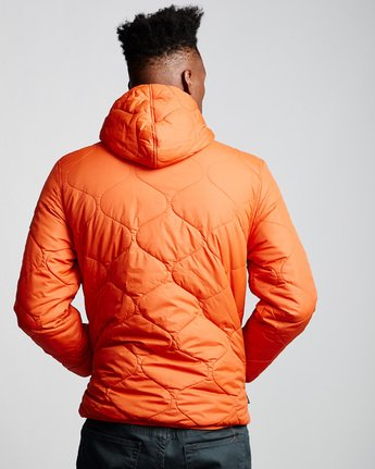 3 Albee Jacket Orange M789VEAL Element