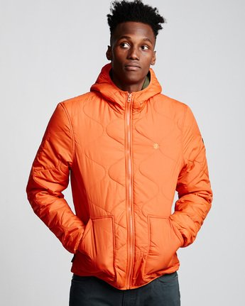 0 Albee Jacket Orange M789VEAL Element