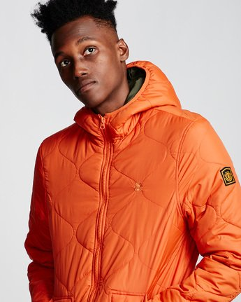 1 Albee Jacket Orange M789VEAL Element