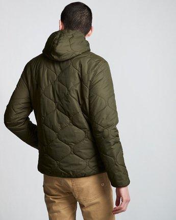 4 Davis 2 T-Shirt Jacket Green M789VEAL Element
