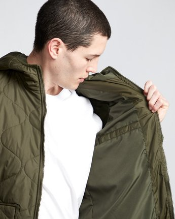 3 Albee Jacket Green M789VEAL Element