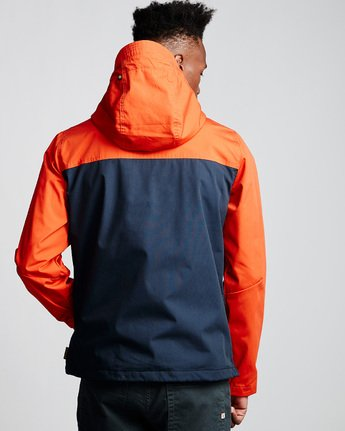 3 Barrow 3Tones Anorak Jacket Blue M790VEB3 Element