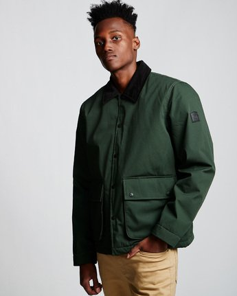 3 Greenwood Jacket Green M790VEGR Element