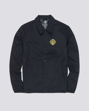 1 Abyss Coach Jacket Blue M795WEAB Element