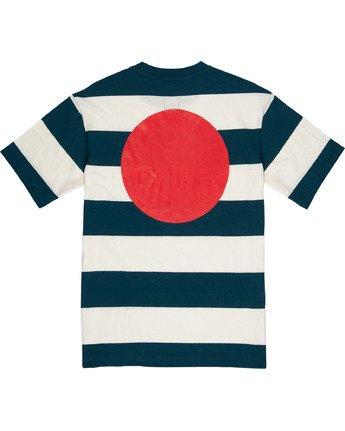 3 Tokyo Flag Tee Blue M9191ETF Element