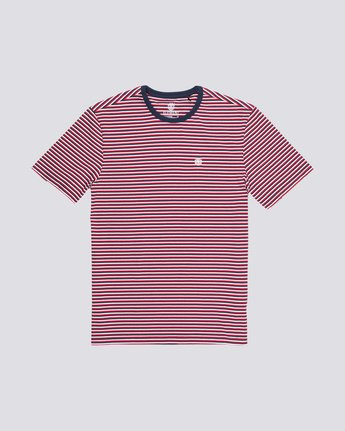 STRIPED CR SS TEE  M920QESC