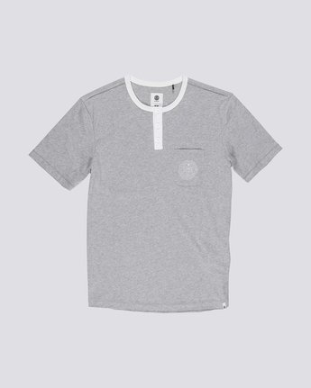 0 Vidock Short Sleeve Henley Tee  M924SEVD Element