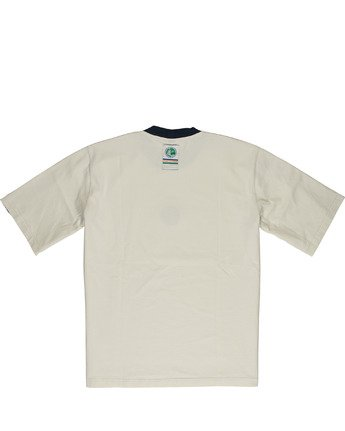 3 Element by Nigel Cabourn Big Sports Taped Crew Tee White M9301EBS Element