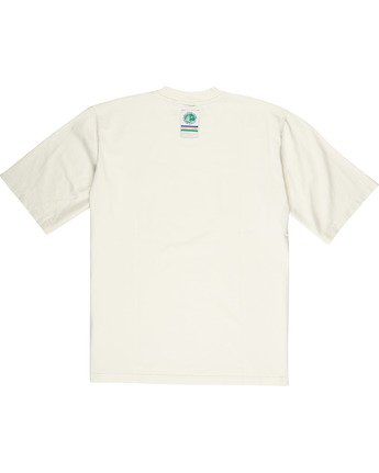 3 Element by Nigel Cabourn Sports Crew Tee White M9311ESP Element