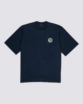 0 Element by Nigel Cabourn Sports Crew Tee Blue M9311ESP Element