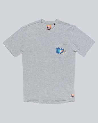 0 Hoffman T-Shirt Grey M938TEHT Element