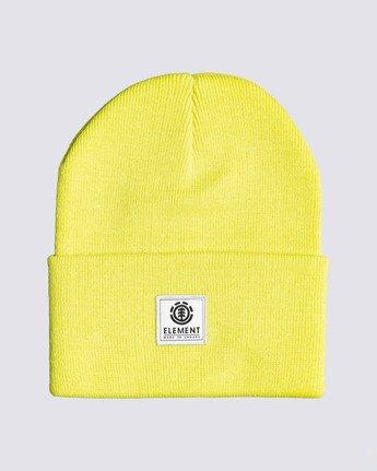 0 Dusk Beanie Yellow MABN3EDU Element