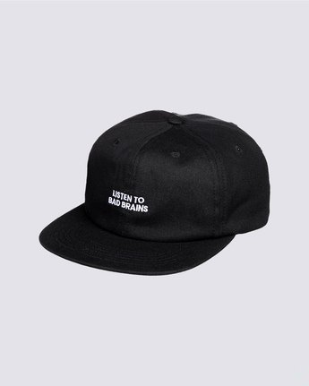 0 Bad Brains Motto Hat Blue MAHT3EBM Element