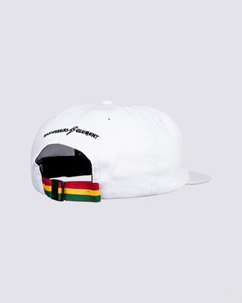2 Bad Brains Motto Hat White MAHT3EBM Element