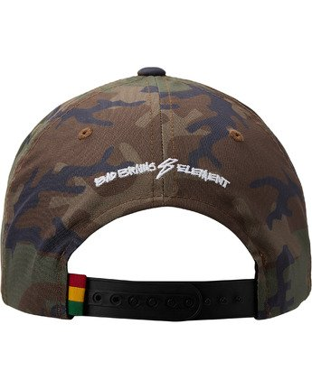 5 Bad Brains Badge Snapback Hat Black MAHT3EBS Element