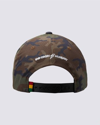 1 Bad Brains Badge Snapback Hat Black MAHT3EBS Element