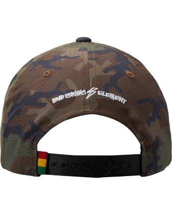 3 Bad Brains Badge Snapback Hat Black MAHT3EBS Element