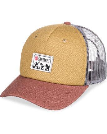 6 Icon Trucker Hat Brown MAHT3EIC Element