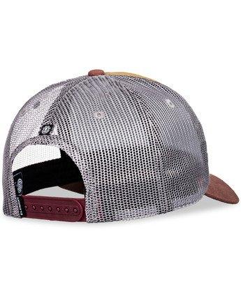 5 Icon Trucker Hat Brown MAHT3EIC Element