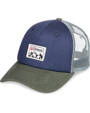 3 Icon Trucker Hat Blue MAHT3EIC Element