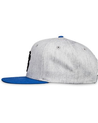 7 Knutsen Snapback Hat Grey MAHT3EKN Element