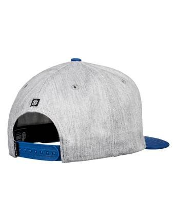 5 Knutsen Snapback Hat Grey MAHT3EKN Element