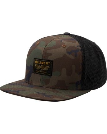2 Recruit Snapback Hat Black MAHT3ERE Element
