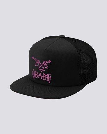 0 Bam Heartagram Hat Black MAHTSEBH Element