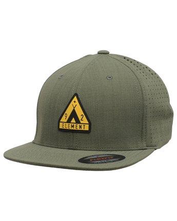 1 Hogan Flex Cap Green MAHTVEHO Element